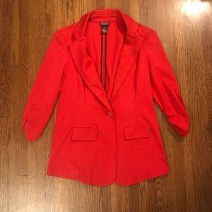 Soho Apparel Red Blazer Jacket